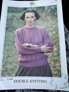 Chevy  Knitting Pattern DK Sweater