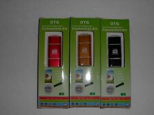 Card Reader  micro USB & USB 2.0 for  Android phone lot of 3