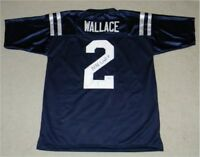 MIKE WALLACE SIGNED AUTOGRAPHED OLE MISS MISSISSIPPI REBELS #2 JERSEY JSA
