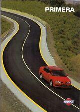 Nissan Primera 1994-96 UK Market Sales Brochure Precision LX SLX SRi SE GT