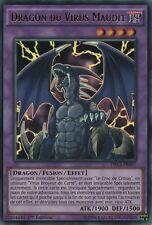 "Yu-Gi-Oh! Dragon du Virus Maudit"" DRL3-FR057 - Ultra rare"