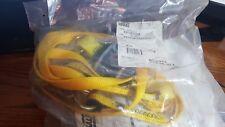 3M DBI-SALA Shock-Absorbing Lanyard,6 ft.,310 lb., 1246022, Yellow