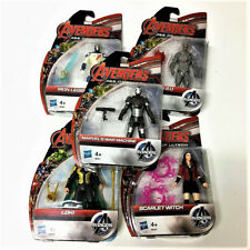5PCS Marvel Avengers Age of Ultron War Machine/Loki/Scarlet Witch/Ultron Figures