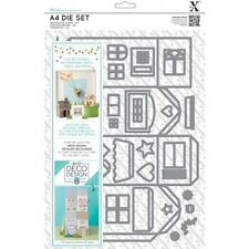 Docrafts XCUT A4 Die Set 37 pieces deco design House Pour Carte Et Boîte Making