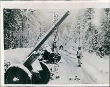 1940 World War II Russian Anti-Aircraft Guns to Finns Original Wirephoto