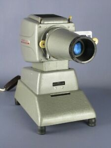 MEOPTA Medior II 5X5 Vintage Projector Metal Modernism Design 1960