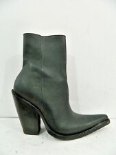 Made to order men ankle boots with side zipper sharp toe 3¨, 4¨ or 5¨ high heels