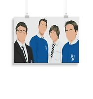 The Inbetweeners, print, poster, prints, posters, wall art, gift, gifts