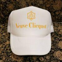 VEUVE CLICQUOT Brut CHAMPAGNE Hat Cap snap back bachelorette bachelor party