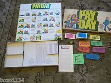 1976 PARKER BROS PAYDAY WHERE DOES ALL THE MONEY GO BOARD GAME 2-4 PLAYERS L@@K