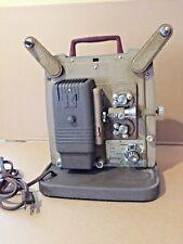 Vintage Keystone K-100 Variable Speed 8mm Silent Film Movie Projector Working!