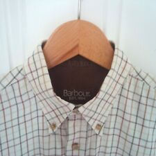 Mens Barbour Tattersall shirt medium