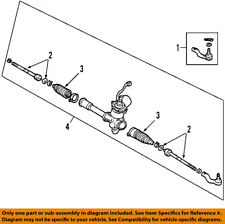 TOYOTA OEM 07-11 Camry-Rack And Pinion Complete Unit 4420033472