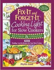 Fix-It and Forget-It Cooking Light for Slow Cookers: 600 Healthy, Low-Fat Recipe