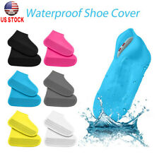 Reusable Silicone Overshoes Rain Waterproof Shoe Covers Boot Protector NonSlip