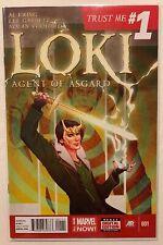 Loki Agent of Asgard 1 Thor Avengers Endgame 1st Print VF/NM