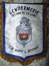 FANION SOUVENIR GENDARMERIE DES PAYS DE LA LOIRE CLUB SPORTIF & ARTISTIQUE
