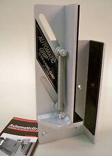 "AutomaticGrip Door and Panel Clamp - Anodized 3/16"" Aluminum - ¾"" to 2"" Door"