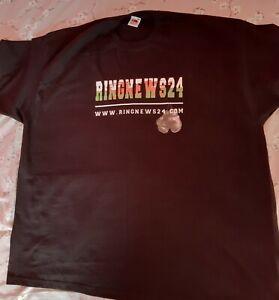 Welsh Boxing T-shirt Black Size 3XL New