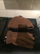 thinsulate gloves 40 gram and Matching Hat