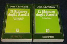 Libri e riviste di narrativa Autore J.R.R. Tolkien la compagnia dell'anello