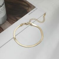 Fashion Retro Snake Chain Bracelet Adjustable Bangle Women Wedding Jewelry Gift