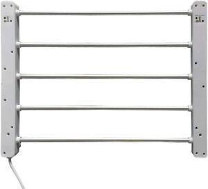 Bathroom Towel Rack 5 Bars Electric Ladder Heated Rail Warmer Eco Rust Free
