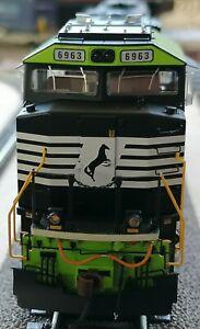 "NS Black Horse Norfolk Southern GoRail SD60E ""DCC Digital Sound"" HO NEW"