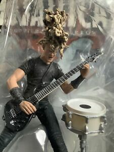 NEW  Jason Newsted  Metallica Harvesters of Sorrow McFarlane Toys  Free Shipping