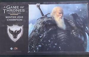 Games Of Thrones Playmat 2015 Championship!