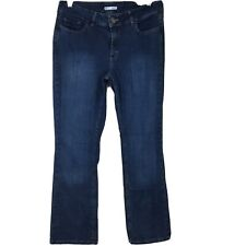 Lee Riders Women's Blue Stretch Mid Rise Boot Cut Jeans Size 14