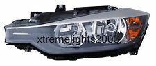 BMW 3 SERIES SEDAN WAGON 2012-2015 LEFT DRIVER HALOGEN HEADLIGHT HEAD LIGHT LAMP
