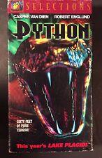 Python (VHS, 2000) Robert Englund, Jenny McCarthy, Wil Wheaton, William Zabka