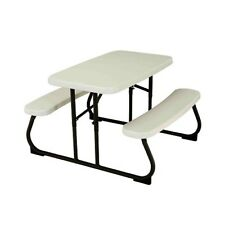 Kids Picnic Bench Outdoor Garden Patio Furniture Toddler Chair Table Dining Set