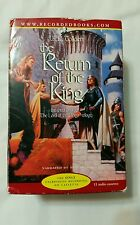 JRR Tolkien's Lord of the Rings Return of the King, 11 Cassettes Audiobook, Used