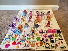 My Little Pony Lot Of 16 Ponys And Accessories Mini Figure Toys