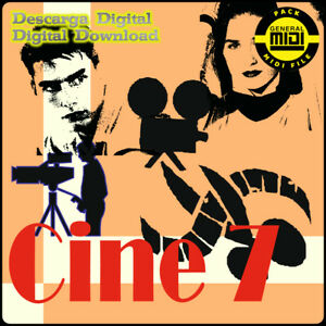 CINE 7 - Pack 8 Midi Files. Descarga Digital. Escucha Demos. General Midi