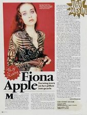 Fiona Apple 'Mojo' Interview Clipping