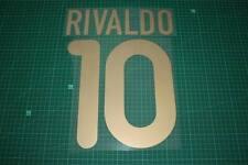 Barcelona 01/02 #10 RIVALDO Homekit Nameset Printing