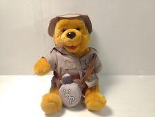 """Winnie The Pooh On Safari 8"""" Stuffed Animal t1920"""