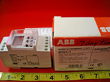 ABB DTS7/1 Weekly Digital Time Switch 1 Channel DTS71 2CSM121000R0601 Nib New