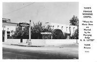Yuma Arizona~Marrying Justice of the Peace Lutes~Wedding Chapel 1940s :