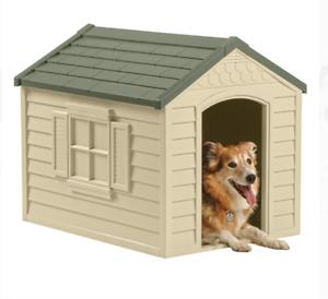 Suncast DH250 Dog House - Green