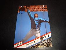 Ken Griffey JT Andy Van Slyke 1993 Leaf All Star Insert Card #7 NM-M Mariners