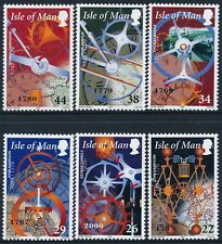 2000 GB ISLE OF MAN THE STORY OF TIME SET OF 6 FINE MINT MNH