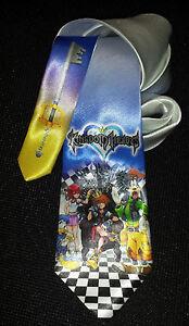 L@@K! Kingdom Hearts Necktie - Sora, Kairi, Riku, Goofy, Donald Duck, Keyblade
