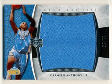 2005-06 Extra Exquisite CARMELO ANTHONY Jumbo Jersey Patch #1/25 Rare Nuggets SP