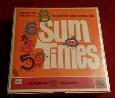 Rare Unopened Sum Times 3M Brand EduPLAYtional Game 1968 Make Numbers Fun