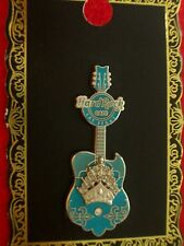 HRC Hard Rock Cafe Las Vegas Blue Rock Couture Guitar 2012 LE200