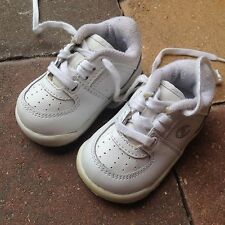 15af4e061936 Champion White Baby Boys Leather Sneakers Size 2 WOW!